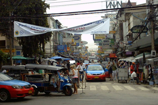 Picture of Khaosan Road in Bangkok, Thailand