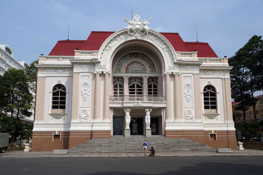 Picture of Saigon Opera House in Ho Chi Minh City, Vietnam
