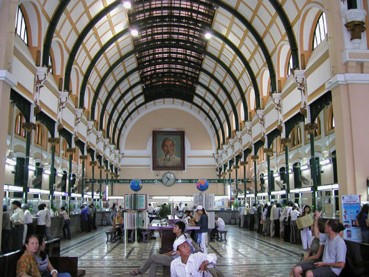 Picture of Saigon Central Post Office in Ho Chi Minh City, Vietnam