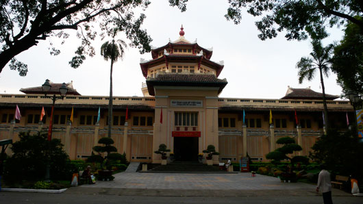 Picture of the Museum of Vietnamese History in Ho Chi Minh City, Vietnam