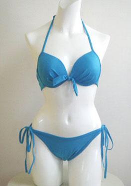 Picture of a blue bikini