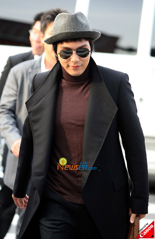 Picture of Korean actor Park Yong-ha at Kwon Sang-woo wedding ceremony