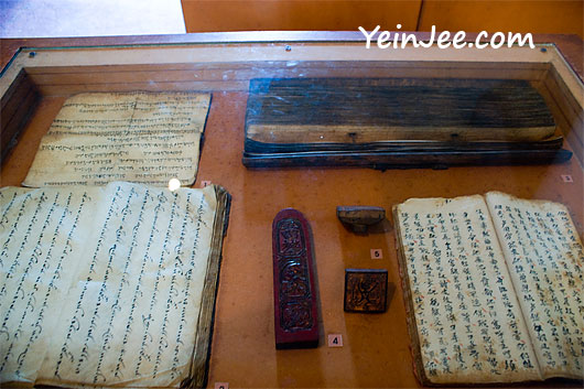 Artifacts at Vietnam Museum of Ethnology in Hanoi