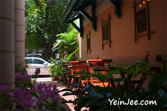Cay Cau restaurant at De Syloia Hotel in Hanoi, Vietnam