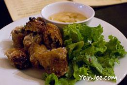 Fried spring roll at Quan An Ngon restaurant in Hanoi, Vietnam
