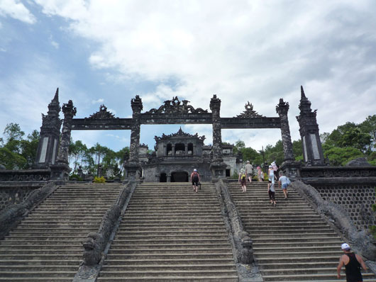 Picture of Khai Dinh Tomb in Hue, Vietnam