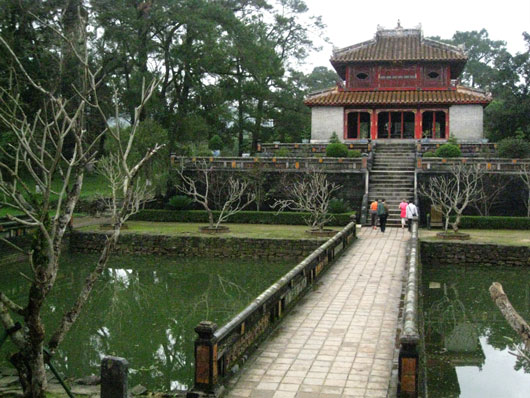 Picture of Minh Mang Tomb in Hue, Vietnam