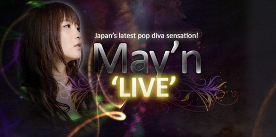 May Nakabayashi to perform at AFA in Singapore