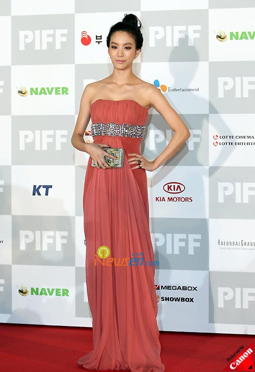 Jung Ryu-won at Pusan International Film Festival 2008