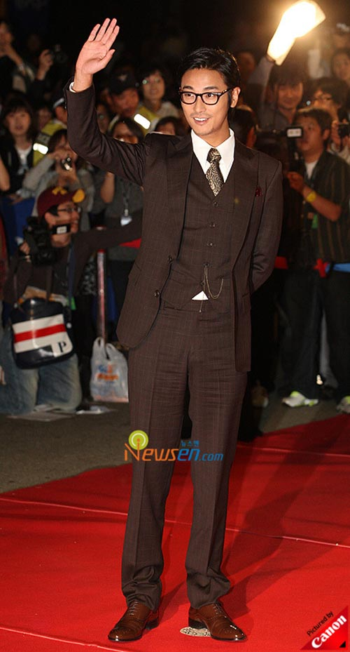 Joo Ji-hoon at Pusan International Film Festival 2008