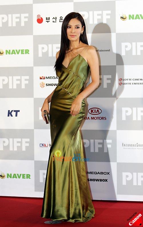 Kim Soo-yeon at Pusan International Film Festival 2008