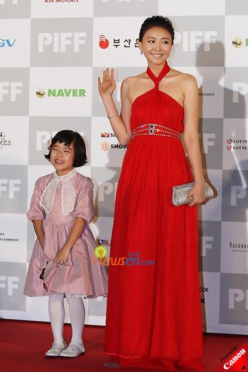 Kim Hyang-gi and Im Jung-eun at Pusan International Film Festival 2008