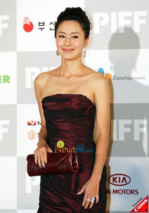 Kim Ji-soo at Pusan International Film Festival 2008