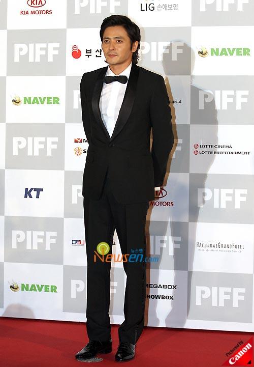 Jang Dong-gun at Pusan International Film Festival 2008