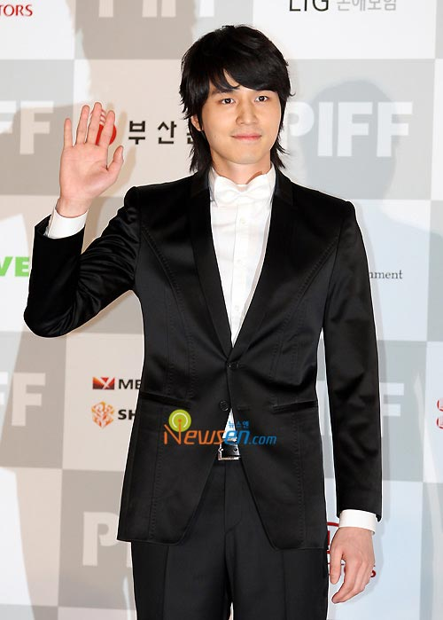 Lee Dong-wook at Pusan International Film Festival 2008