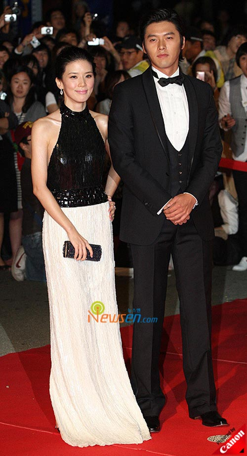 Hyun Bin and Lee Bo-young at Pusan International Film Festival 2008