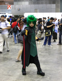 Cosplayer at Anime Festival Asia 2008