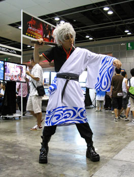 Gintama cosplay at Anime Festival Asia 2008