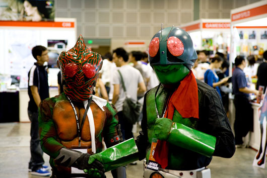 Cosplayers at Anime Festival Asia 2008