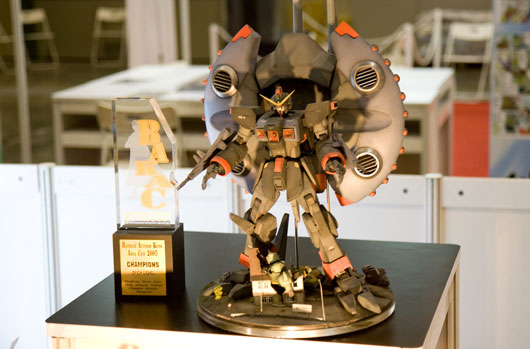 Mecha figurine at Anime Festival Asia 2008