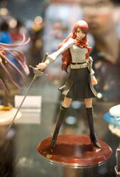 Anime figurine at Anime Festival Asia 2008