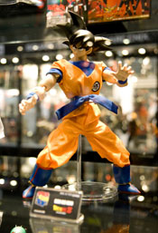 Dragon Ball figurine at Anime Festival Asia 2008