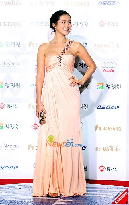 Korean actress Son Ye-jin Blue Dragon Film Awards 2008