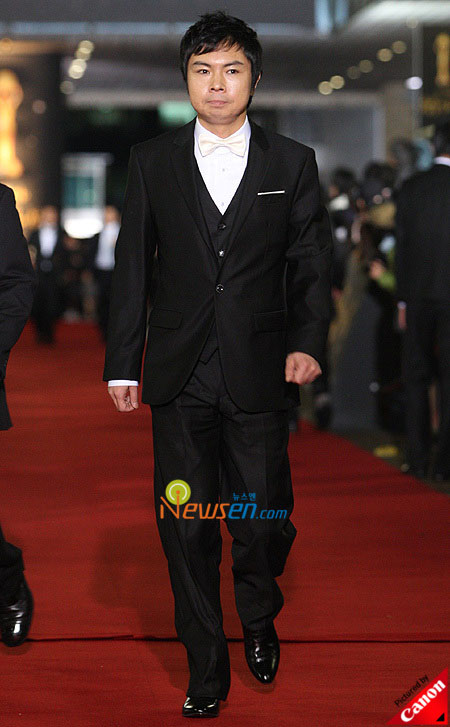 Korean actor Im Won-hee at Blue Dragon Film Awards 2008 in Seoul
