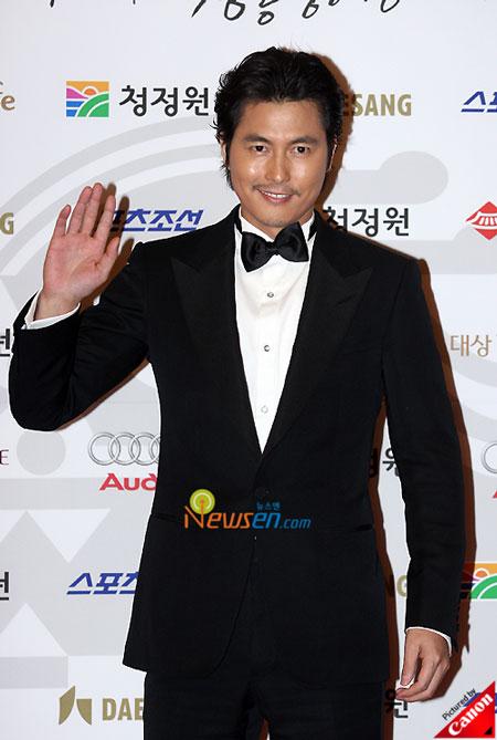 Korean actor Jung Woo-sung Blue Dragon Film Awards 2008