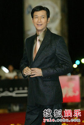 Picture of Hong Kong actor Adam Cheng at Golden Bell Awards 2008 in Taipei, Taiwan