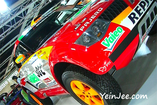 Mitsubishi Pajero for Dakar Rally at KLIMS 2006