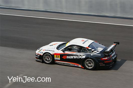Porsche 911 GT3RSR at Super GT Malaysia 2008