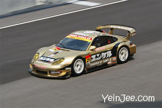 Porsche 911 GT3R at Super GT Malaysia 2008