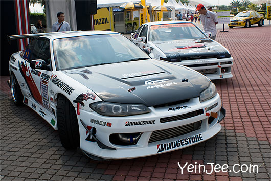 Sport cars at Super GT Malaysia 2008