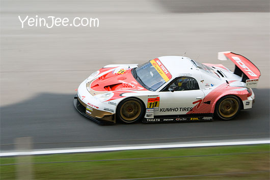 Porsche Boxter at Super GT Malaysia 2008