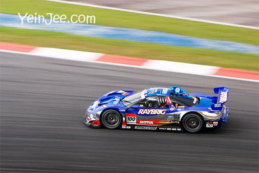 Honda NSX at Super GT Malaysia 2008