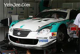Super GT race car at Super GT Malaysia 2008