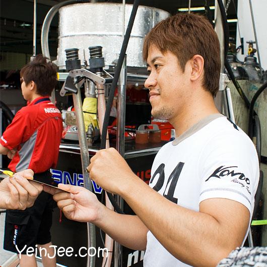 Japanese GT driver Seiji Ara at Super GT Malaysia 2008