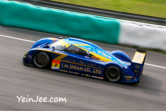 Mooncraft Shiden at Super GT Malaysia 2008