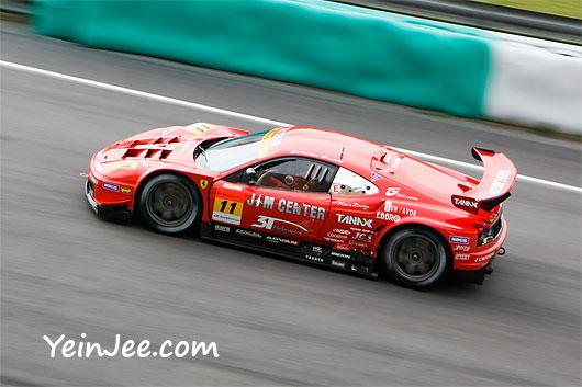 Ferrari F360 at Super GT Malaysia 2008