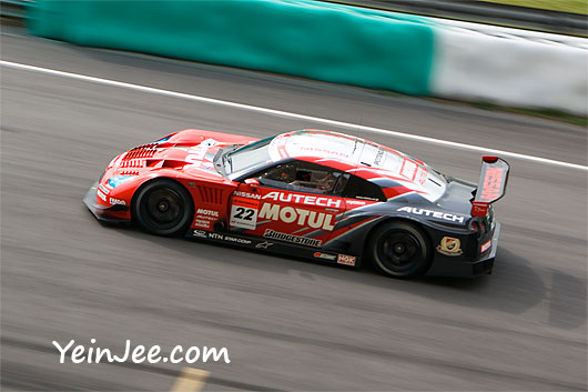 Nissan GT-R at Super GT Malaysia 2008
