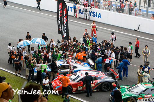 GT500 winners at Super GT International Series Malaysia 2008