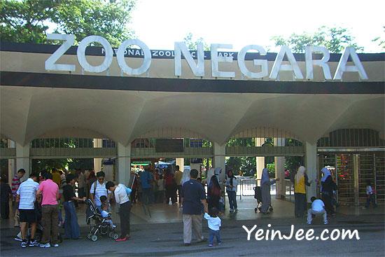Malaysia National Zoo in Ulu Klang, Selangor