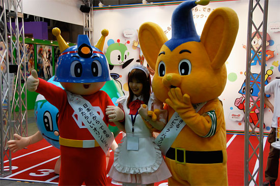 Tokyo International Anime Fair 2009 at Tokyo Big Sight