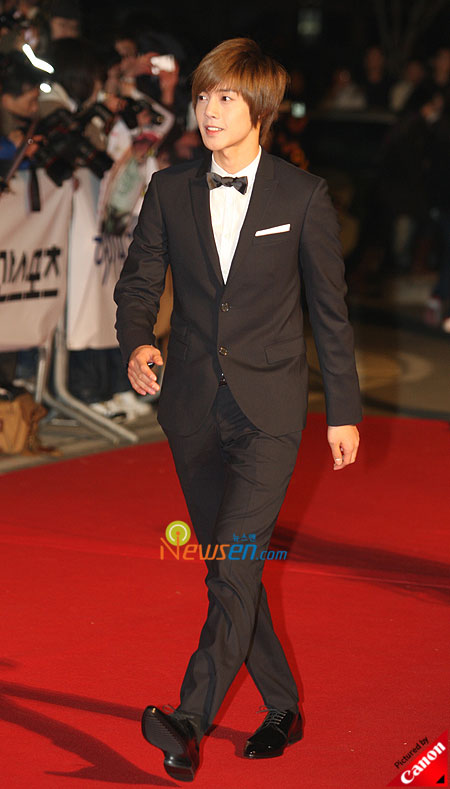 Kim Hyun-joong at Baeksang Arts Awards 2009 in Seoul