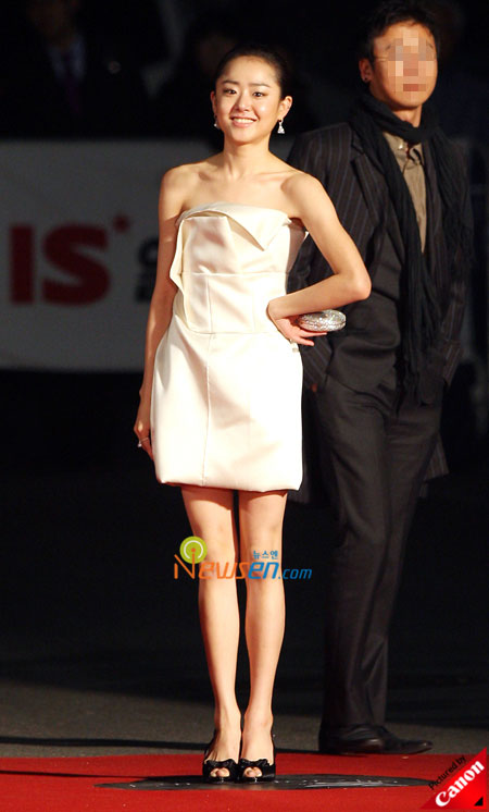 Moon Geun-young at Baeksang Arts Awards 2009 in Seoul