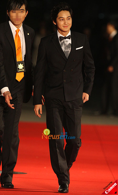 Kim Bum at Baeksang Arts Awards 2009 in Seoul