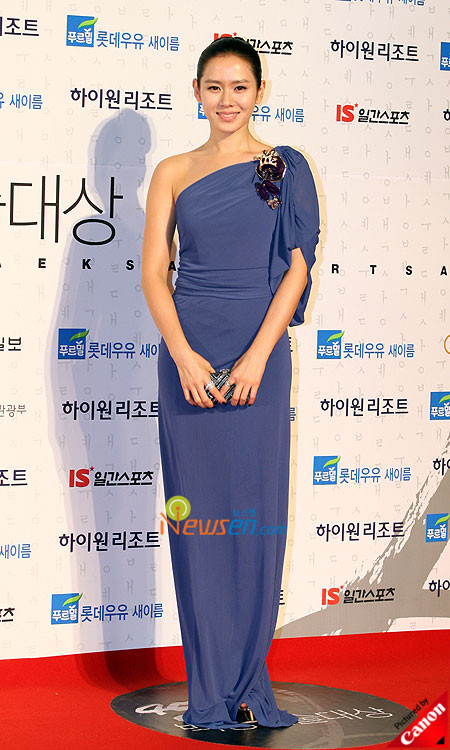 Son Ye-jin at Baeksang Arts Awards 2009 in Seoul