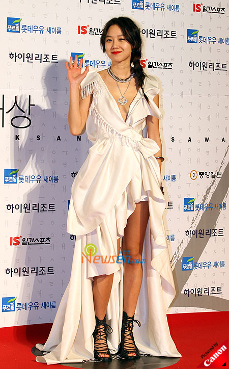 Gong Hyo-jin at Baeksang Arts Awards 2009 in Seoul
