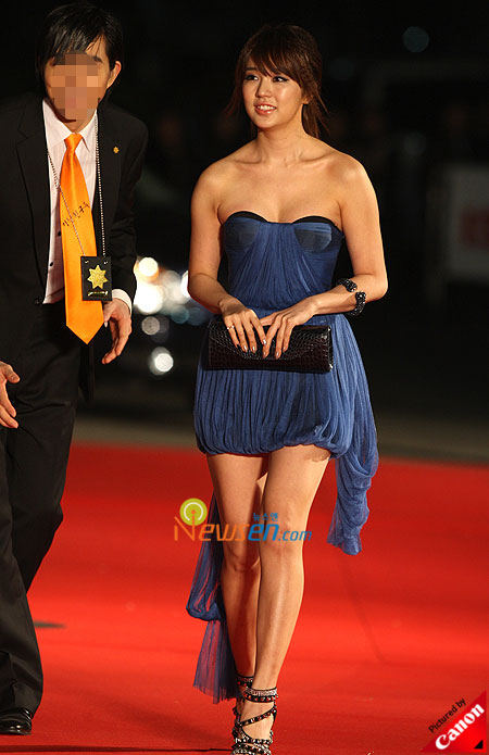 Yoon Eun-hye at Baeksang Arts Awards 2009 in Seoul